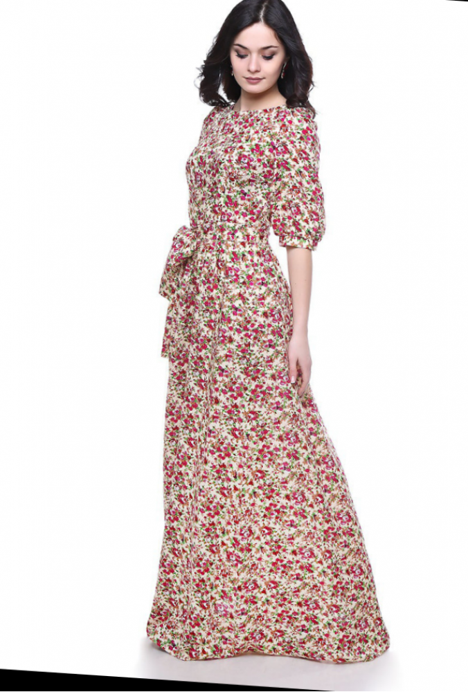 Платье Длинное Вискоза Купить